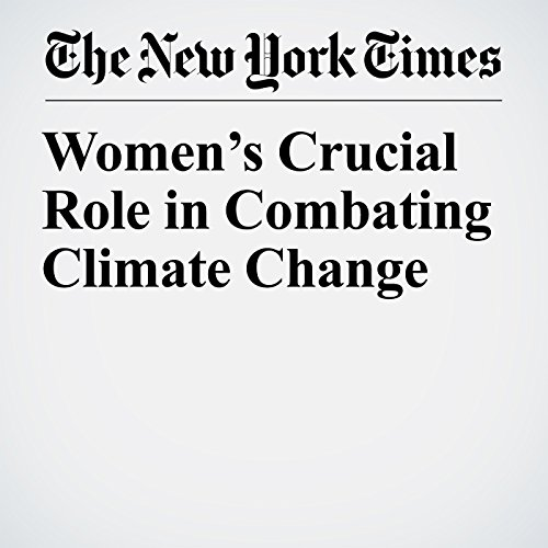 Women's Crucial Role in Combating Climate Change copertina