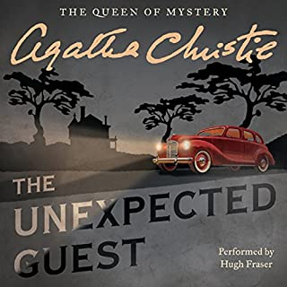 The Unexpected Guest audiobook cover art