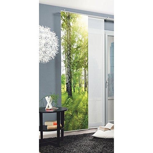 Home Fashion Schiebevorhang, Grün