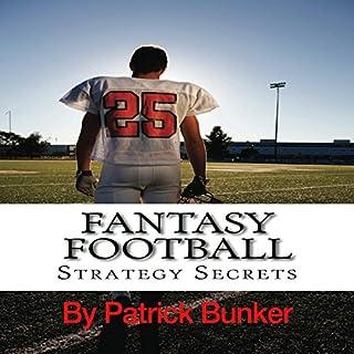 Fantasy Football Strategy Secrets audiobook cover art