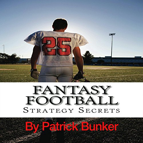 Fantasy Football Strategy Secrets audiobook cover art