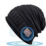 DOOK Cappello Bluetooth Bluetooth Beanie 5.0 con Altoparlanti Stereo HD Cuffie a Cuffia Wireless Lavabile Running Hat, per Uomo/Donna Elettronici Regali di Natale