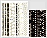 3D Luxury Design Nail Art Stickers