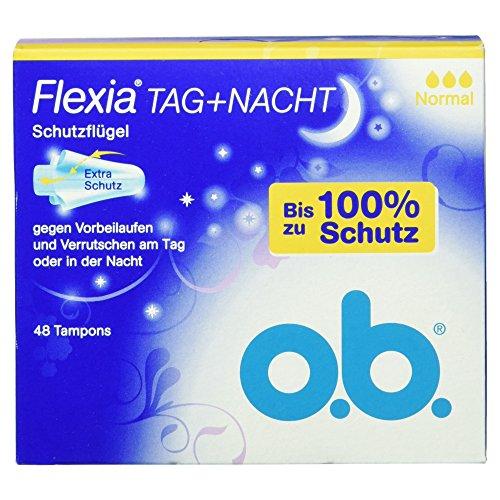 O.b. Flexia Tag und Nacht Normal, 48 Tampons