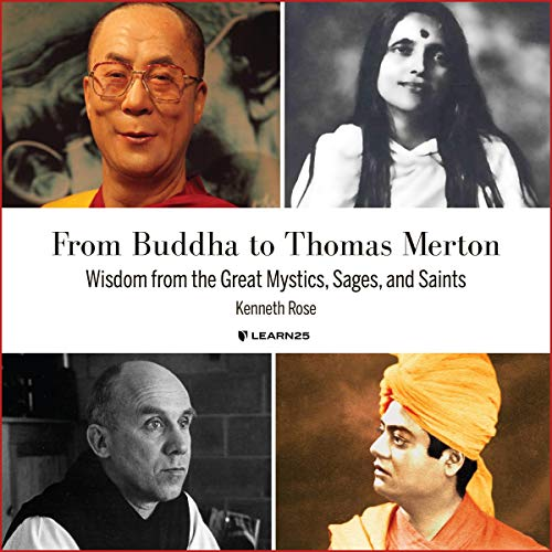 From Buddha to Thomas Merton: Wisdom from the Great Mystics, Sages, and Saints copertina