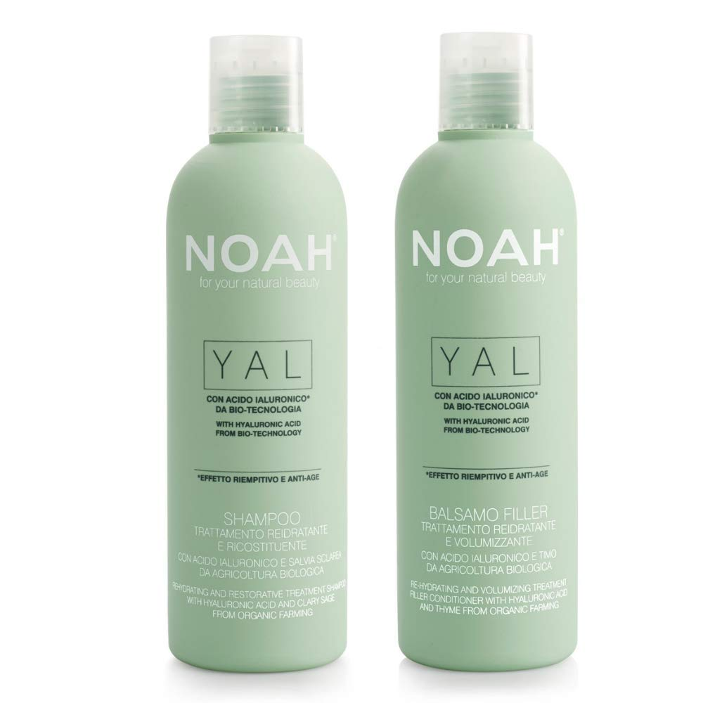 NOAH Dedication Yal Thyme + Hyaluronic Ranking TOP1 Acid Cr Conditioner Set and Shampoo