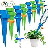 BETOY 20 Pcs Irrigation Goutte à Goutte Kit -arroseurs automatiques avec vannes de régulation, Réglable Plante Automatique Plantes Irrigation Système pour Jardin intérieur et extérieur
