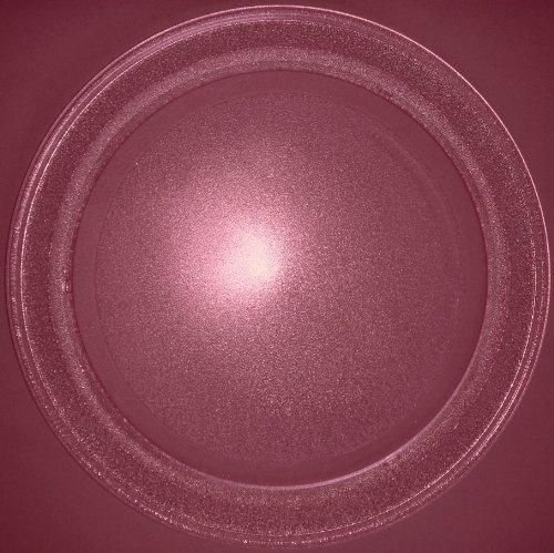 Mikrowellenteller / Drehteller / Glasteller für Mikrowelle # ersetzt Bifinett Mikrowellenteller # Durchmesser Ø 35,5 cm / 355 mm # Ersatzteller # Ersatzteil für die Mikrowelle # Ersatz-Drehteller # OHNE Drehring # OHNE Drehkreuz # OHNE Mitnehmer