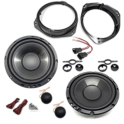 Sound Way Kit Altoparlanti Autoradio Adattatori Connettori Supporti Compatibile con Fiat, Alfa Romeo, Opel, Lancia