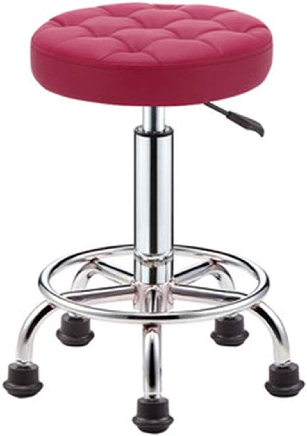 Bar Chair Beauty Stool redating Lift Pulley Work Chair Nail Stool 11 colors 1 Size (color   B)