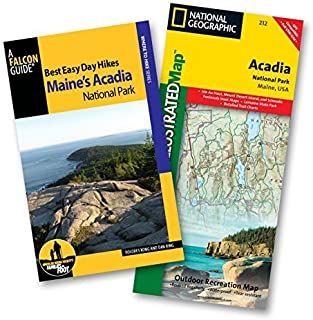 Best Easy Day Hiking Guide and Trail Map Bundle: Acadia National Park (Best Easy Day Hikes Series) 3rd edition by Kong, Dolores, Ring, Dan (2015) Paperback