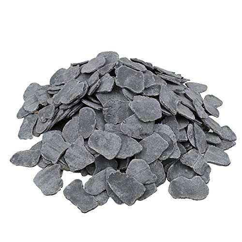 Best Deals! Hisencn Ceramic Fiber Flaky Coals Rocks for Gas Logs Sets, Decorative Coal for Outdoor F...
