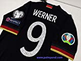 ZA Timo Werner Germany Away Trikot 2020 Size XL Full Patch