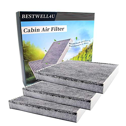 3 Pack Cabin Air Filter for Toyota/Lexus/Mazda,Replacement for 87139-0E040,87139-0E040,TK48-61-J6X