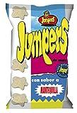 Aperitivo de Maiz Jumpers. Caja de 8 unidades x 100g