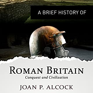 A Brief History of Roman Britain audiobook cover art