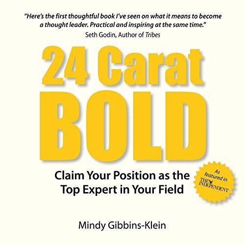 24 Carat Bold audiobook cover art