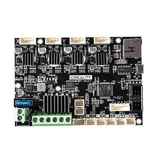 Aibecy Creality Placa de control base 3D Placa madre V1.1.5 Placa base silenciosa para Ender-3 DIY Auto ensamblaje Kit de impresora de escritorio 3D Suministros de actualización
