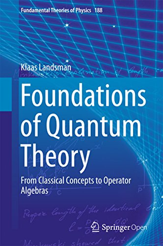 Foundations of Quantum Theory: From Classical Concepts to Operator Algebras (Fundamental Theories of Physics Book 188) (English Edition)