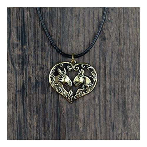 Chenran Gift Toothless Pendant Necklace How To Train Your Dragon Necklace Jewelry Dragons Necklace Accessories (Metal Color : Antique Bronze Plated)