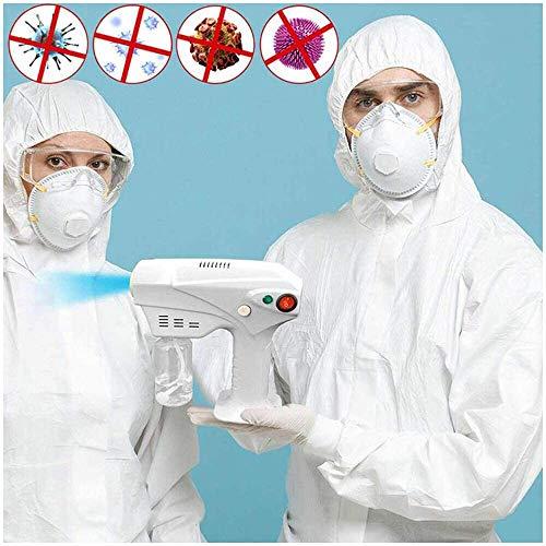FHUILI Désinfection Portable Blue Light Nano Machine de pulvérisation de Vapeur poignée Nano Soins des Cheveux Pulvérisateur pour Office, la Maison et Salon de beauté