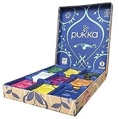 Idea Regalo - Pukka Selection Box Scatola di Tisane Biologiche Assortite, 45 Bustine