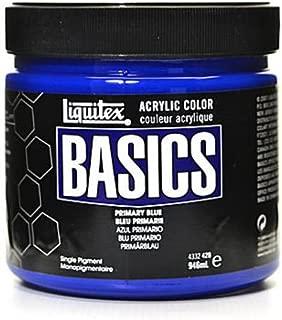 Liquitex Basics Acrylics Colors (Primary Blue) - 32 oz. 1 pcs SKU# 1836371MA