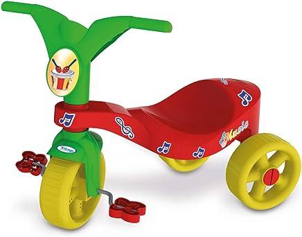 Triciclo Pop Music Xalingo Vermelho/verde