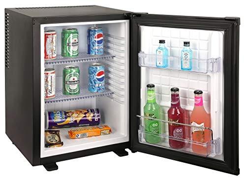 Mini bar Frigo bar chambre HÔTEL ou bureau 40 litres classe A+ totalement silencieux (0 dB)