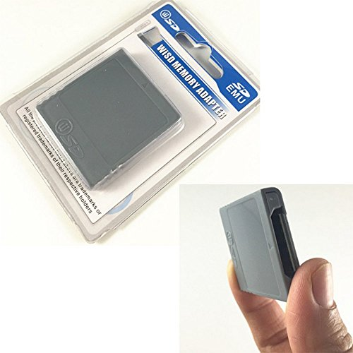 Key SD Memory Card Stick Converter Adapter for Nintendo Gamecube NGC Wii Video Games