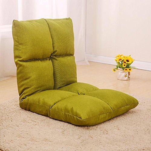 KSUNGB Canapé Lounger Pliable Individuel Petit canapé Lit Dossier d'ordinateur Chaise Canapé, Green