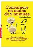 Convaincre en moins de 2 minutes - Marabout - 16/01/2013