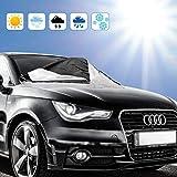 Migimi Sonnenschutz Auto mit UV Schutz, Sonnenblende Magnet Auto Sonnenschutz Abdeckung für...