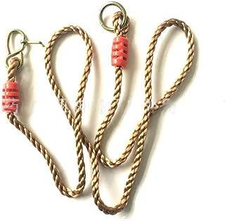 MINGZE Cuerdas de Columpio Ajustables 1,8 m, Silla de Columpio Hamaca, Cuerda de conversión/extensión para Columpio de árboles, Ideal para Colgar un Columpio de una Rama de árbol