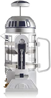 KOUYA Hand Coffee Machine, R2D2 Robot Home Mini Insulation Pot Coffee Pot Mocha Method Pressure Pot