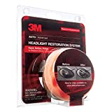 3M 39008 Heavy Duty Kit, Sand, Refine, and Polish to Restore 2 Cloudy and Dull Headlights, Drill Needed