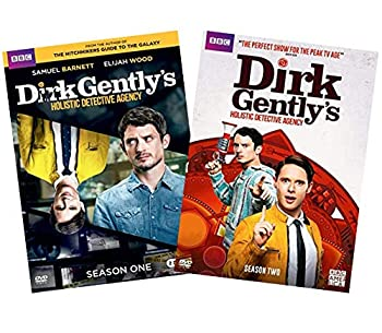 Dirk Gently's Holistic Detective Agency  The Complete Series DVD Collection  The Complete First & Second Seasons // Season 1 & Season 2  [Samuel Barnett Elijah Wood]