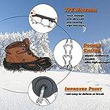 Zoom IMG-2 kateluo tacchette da ghiaccio ramponi