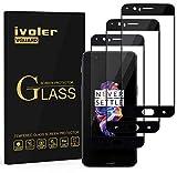 ivoler [3 Unidades] Protector de Pantalla para Oneplus 5, [Cobertura Completa] Cristal Vidrio Templado Premium, [Dureza 9H] [Anti-Arañazos] [Sin Burbujas]