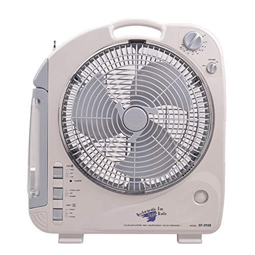 YINUO Fans Ventilador eléctrico para el hogar Ventilador Ultra silencioso, Multifuncional, Gran...