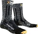 X-Socks Trekking Light Limited, Calze Uomo, Grigio/Nero, 39/41