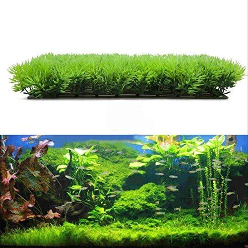 KaariFirefly Artificial Plastic Plant Fake Grass Aquarium Fish Tank Ornament Landscaping Decor Accessories 1#