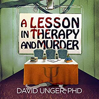 A Lesson in Therapy and Murder audiobook cover art