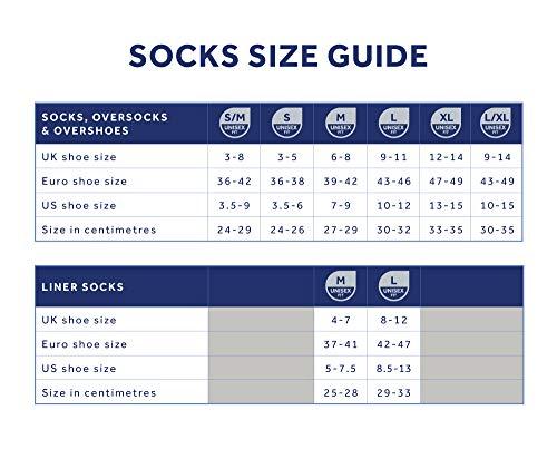 SealSkinz Unisex's Waterproof Warm Weather Ankle Length Sock, Black, Medium