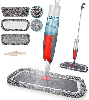 MEXERRIS Wet Dry Dust Hardwood Kitchen Floor Mop