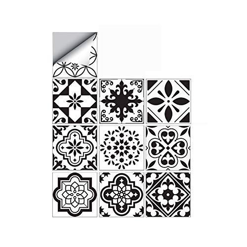 25 PCS Moroccan Style Tile Sticker, 4x4 Inch(10x10cm)...