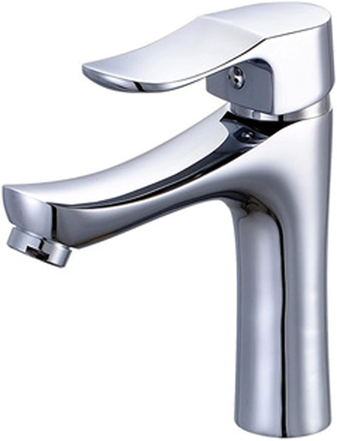 ZHANGY Faucet Faucets Brushed nickel ModernSingle Hole BathroomCopper Faucet with Single Handle Bathroom hardware