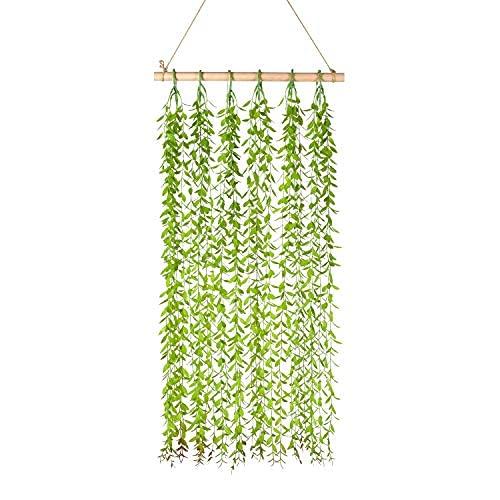 Decoración de pared con tornillos artificiales para colgar en la pared, diseño de flores y verduras para dormitorio, cocina, decoración de pared del hogar