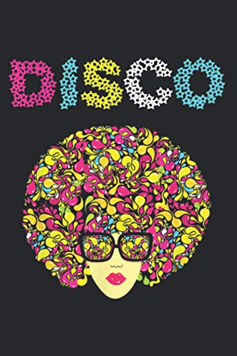 Disco Roller Disco Vintage Retro 1970S Outfit: Daily Notebook, Size format 6.0 x 9.0 inches, 120 Pages