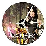 MasTazas Black Desert Online Lahn Reloj CD Clock 12cm